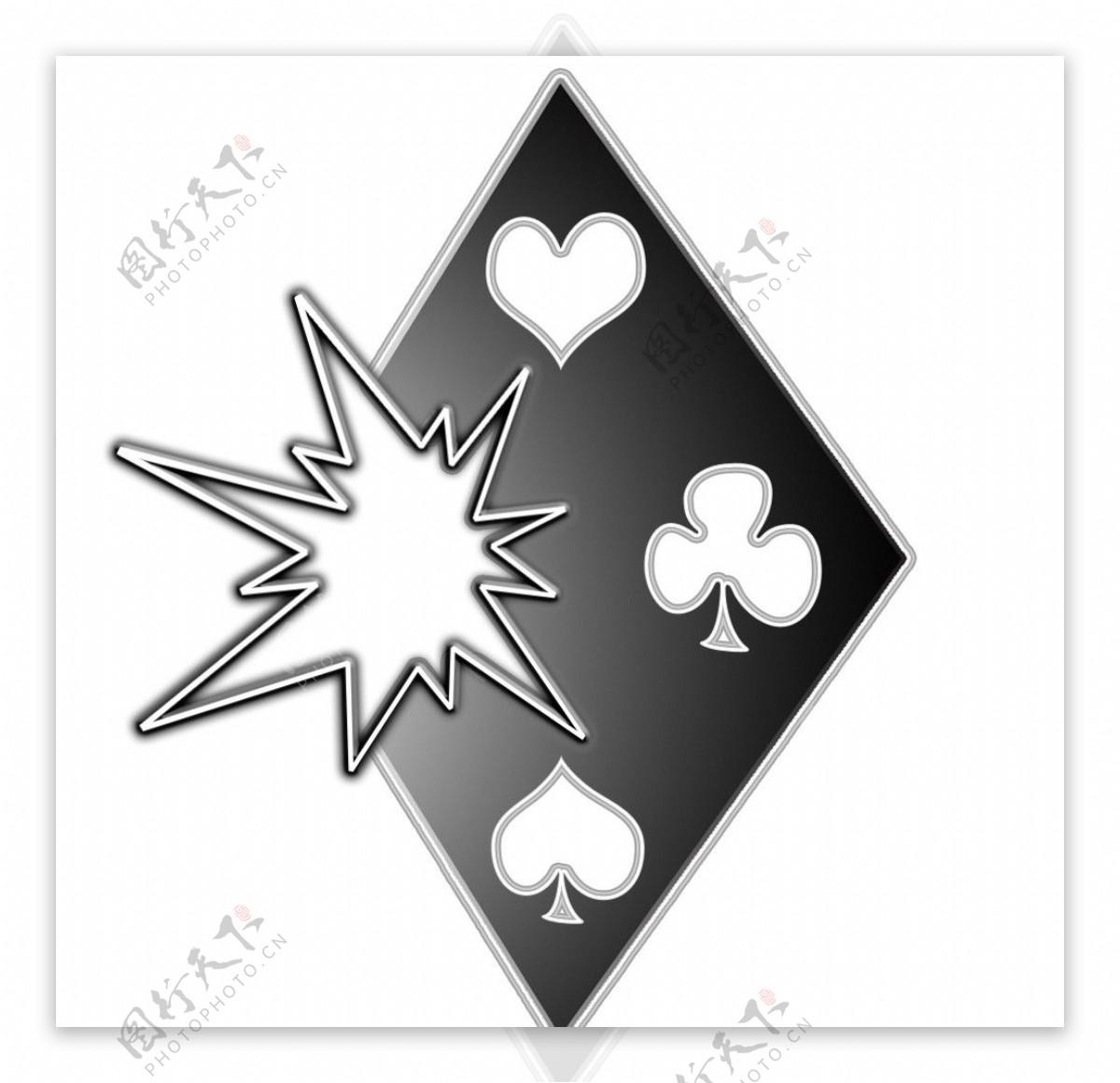 棋牌游戏图标logo